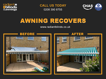 Blinds and Awnings for shops and homes in Chertsey